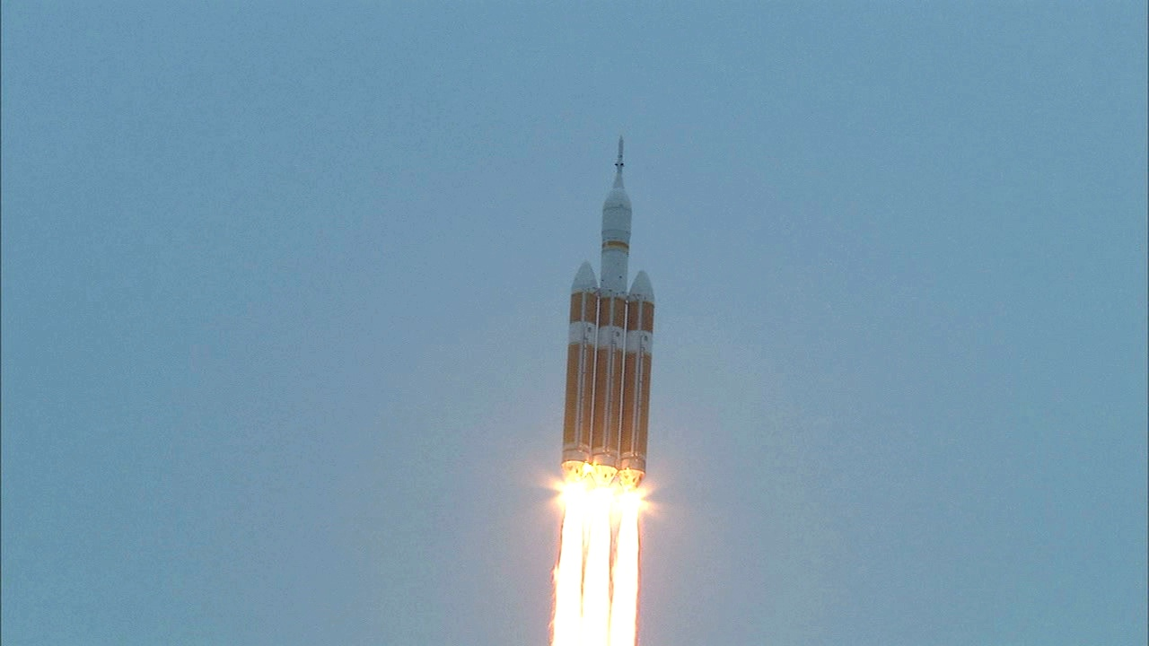 Orion Lift Off December 5, 2014