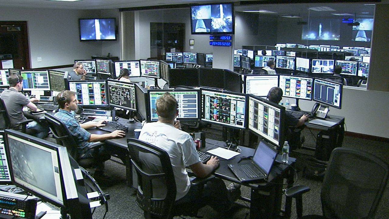 launch control engineers at cape canaveral