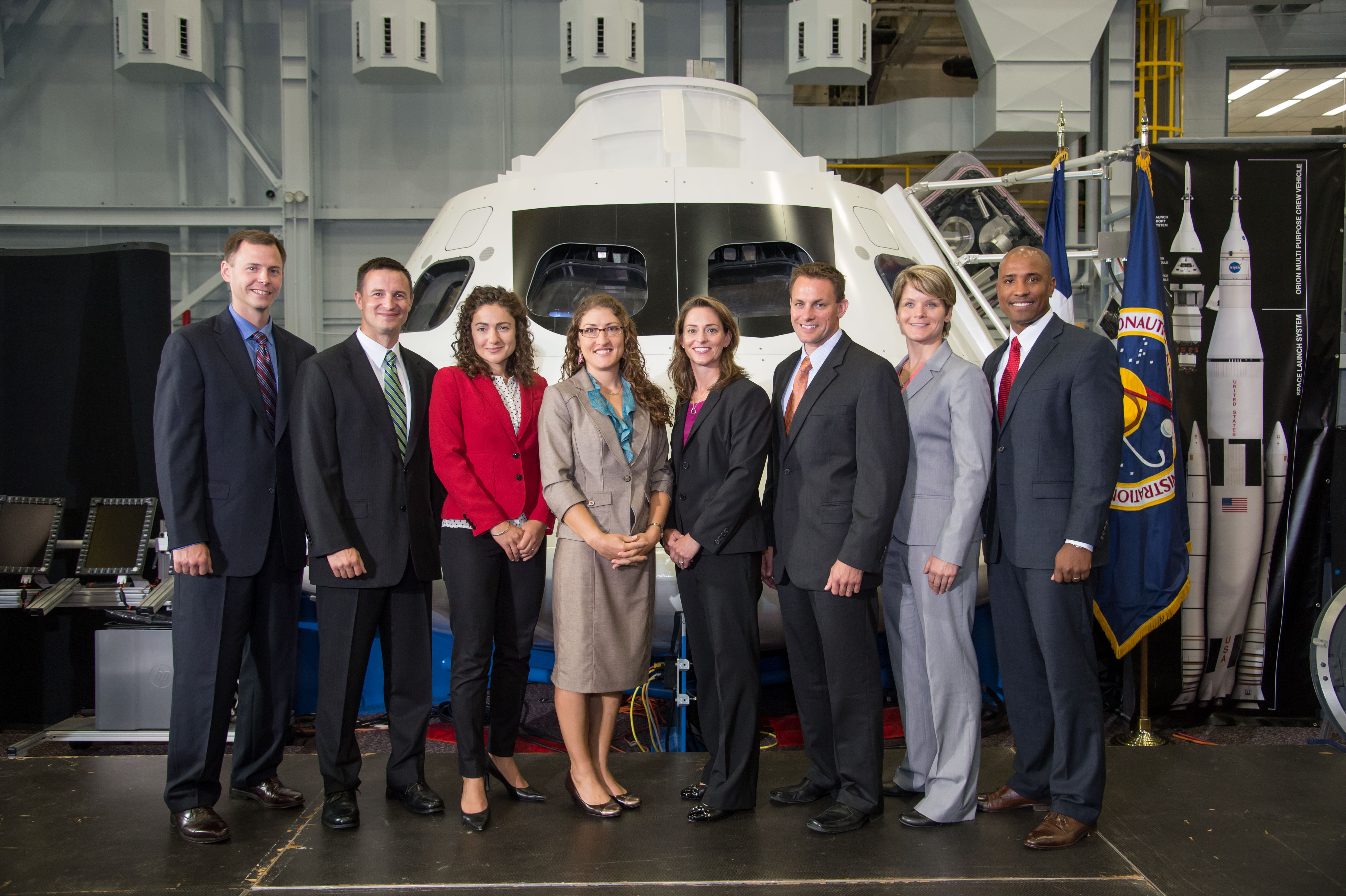 Nasa S 2013 Astronaut Candidates Promote Stem Education At