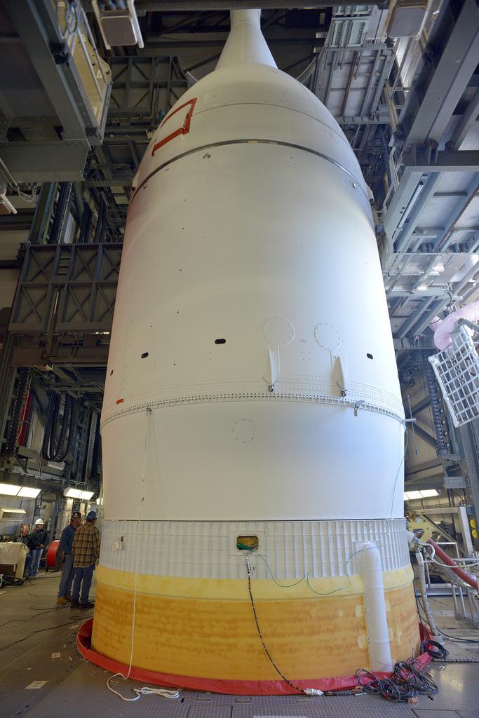 Nasa Orion NASA Sets Prelaunch Ac...