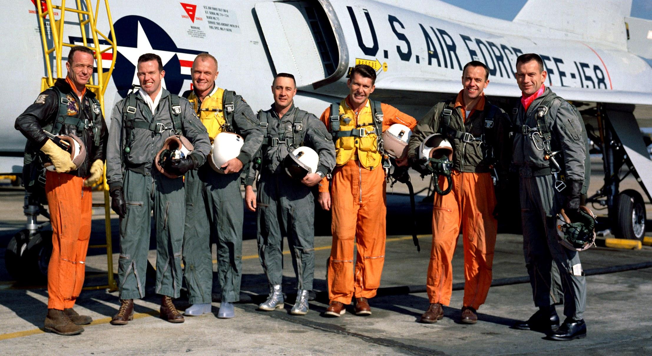 original seven astronauts selected - photo #2