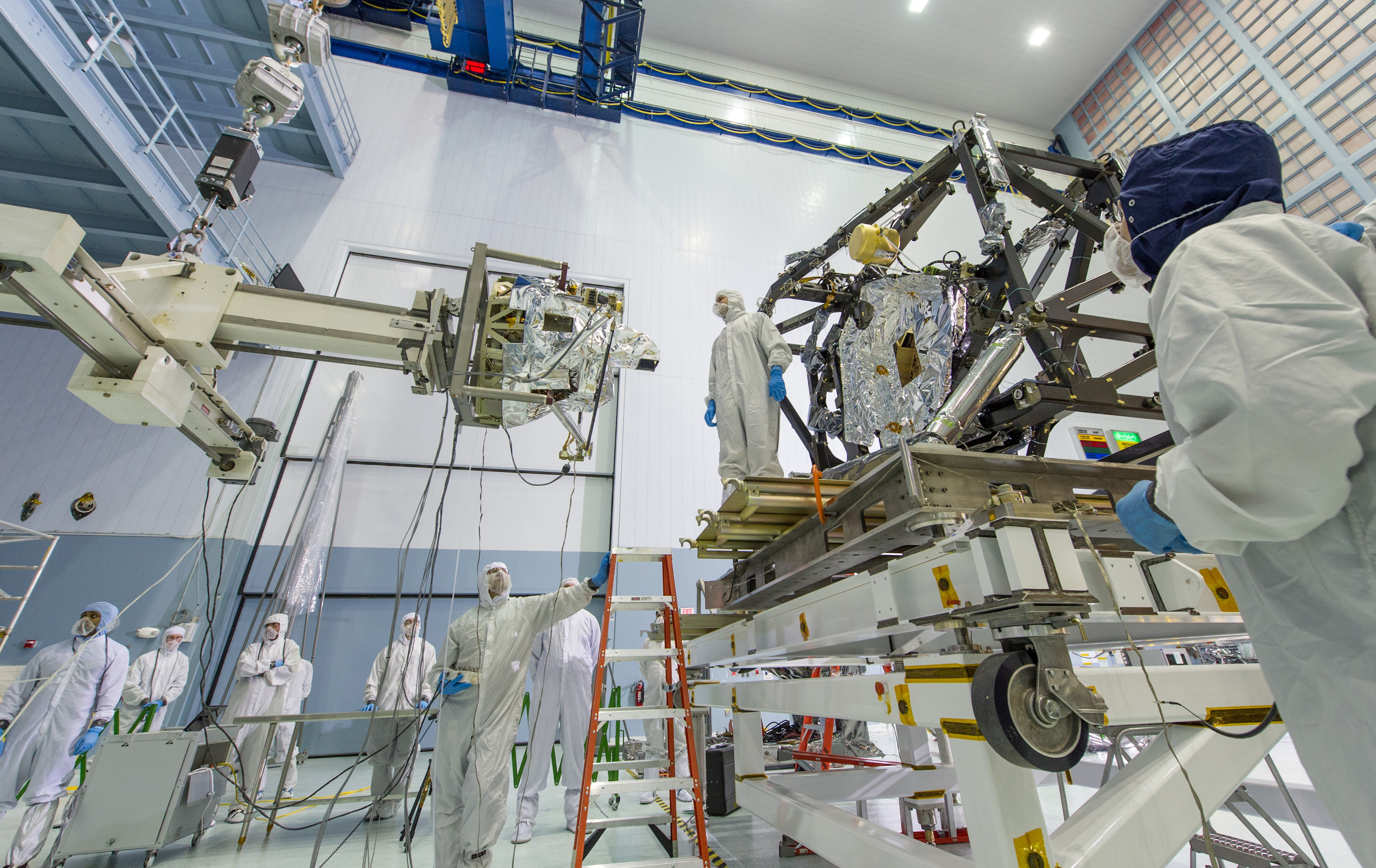 NASA Completes First Part of Webb Telescope's 'Eye Surgery ...