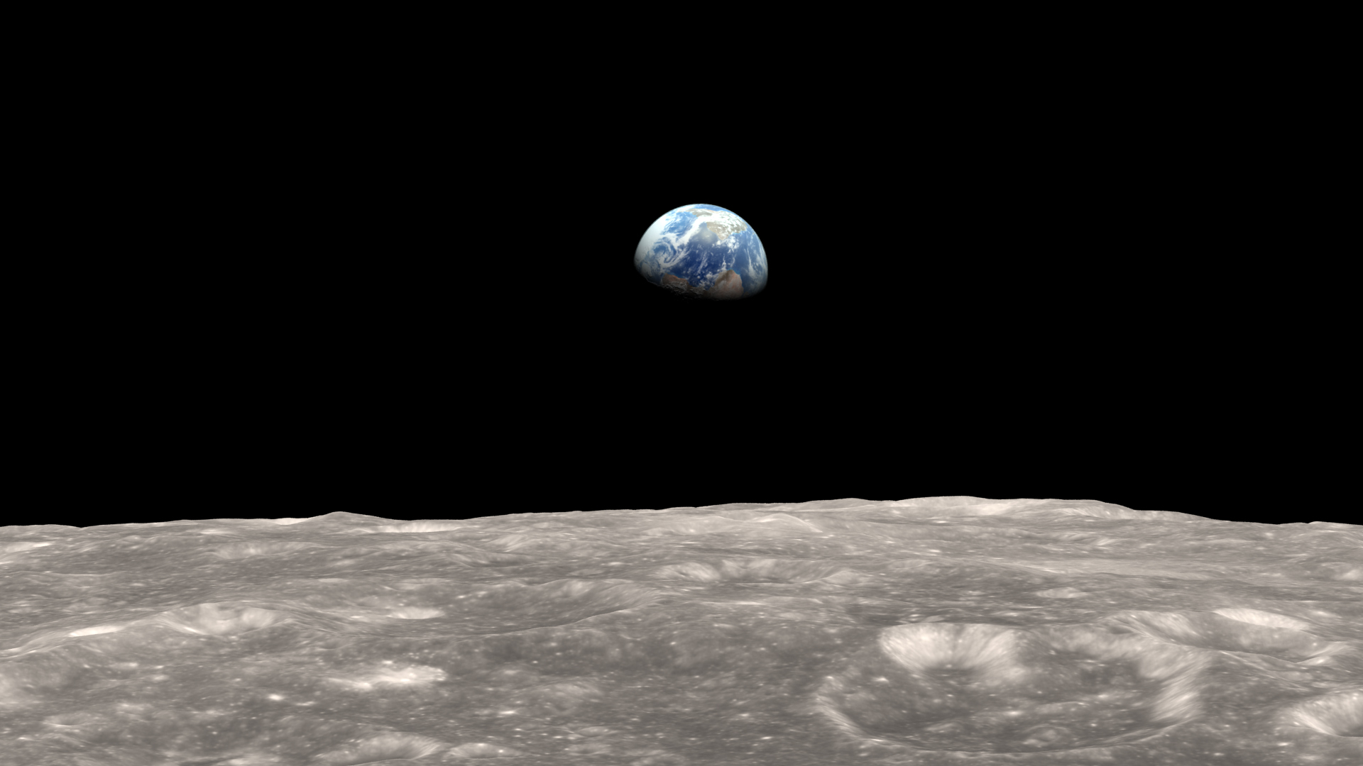 earth from the moon nasa-#3