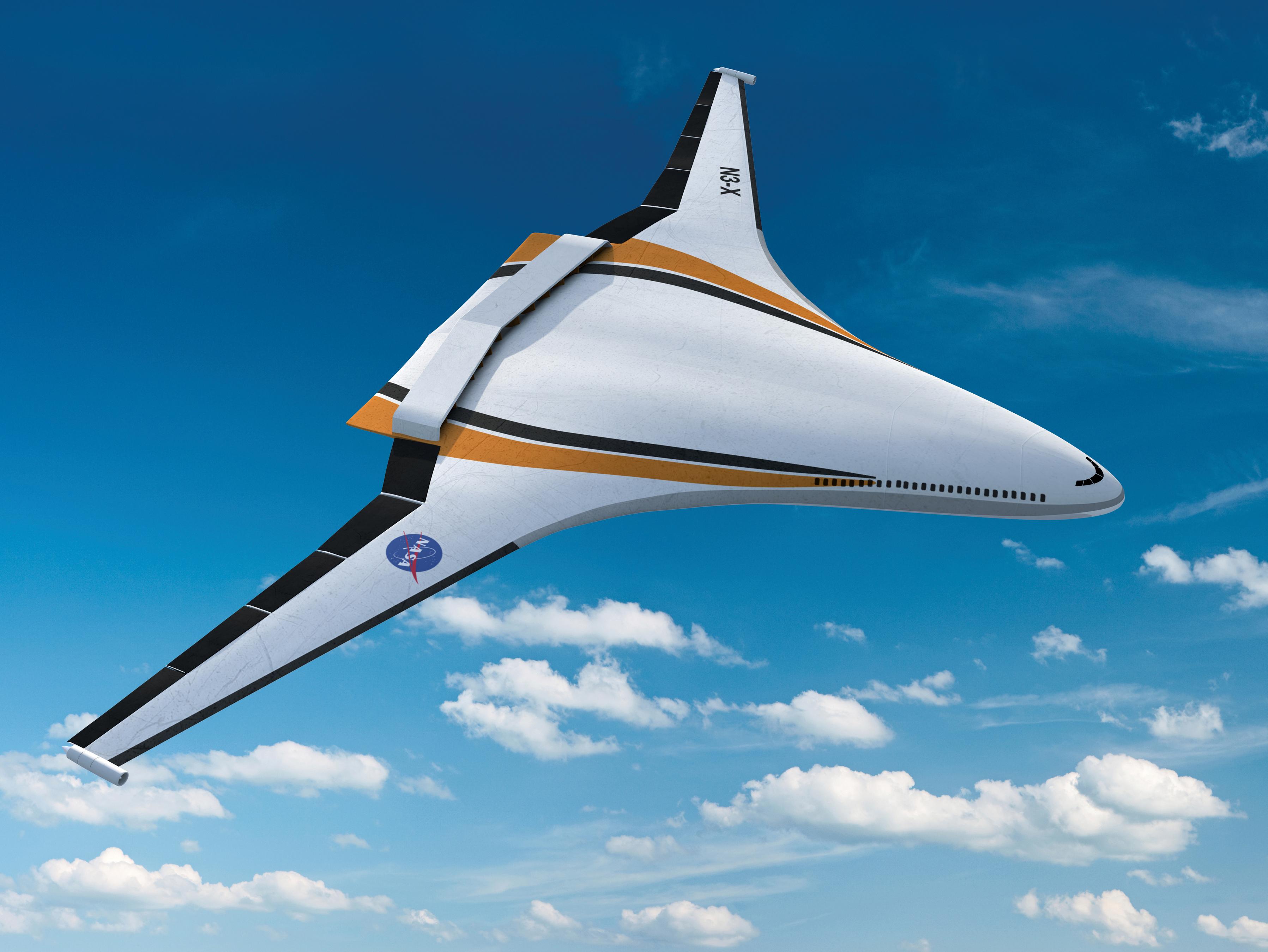 Hybrid Wing Body Goes Hybrid NASA