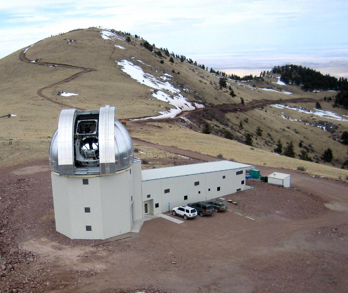 New mexico socorro county magdalena - The New Mexico Institute Of Mining And Technology S 2 4 Meter 7 9 Foot Magdalena Ridge Observatory In Socorro County N M