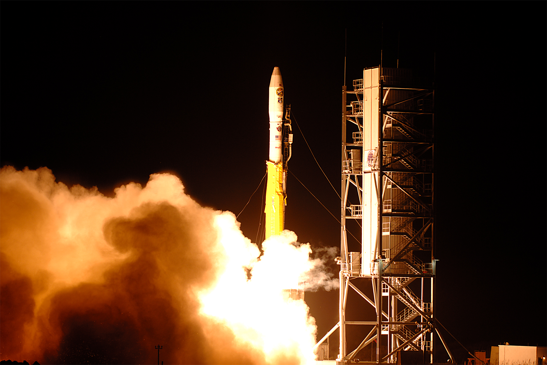 Air Force Minotaur Rocket Launching from Virginia November ...
