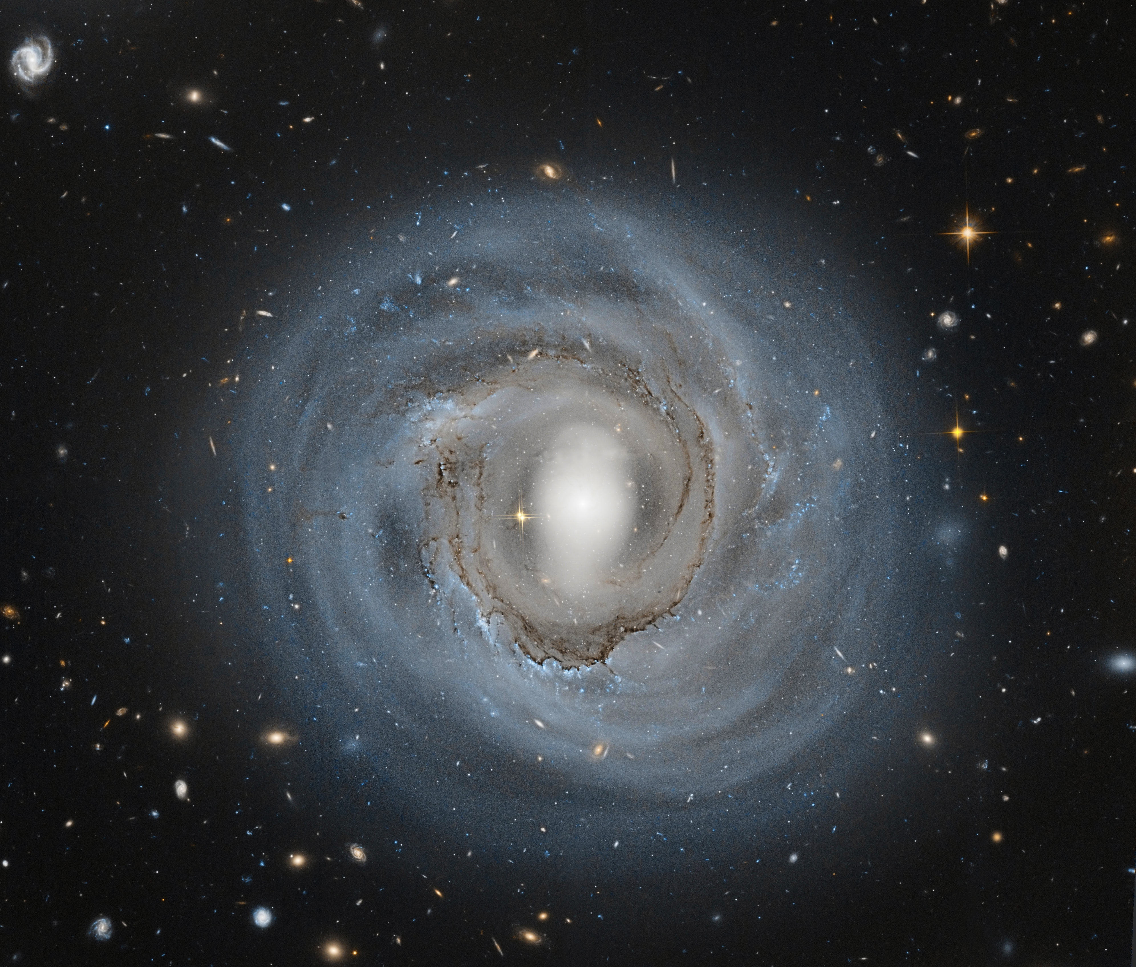 Hubble Sees Anemic Spiral NGC 4921 | NASA
