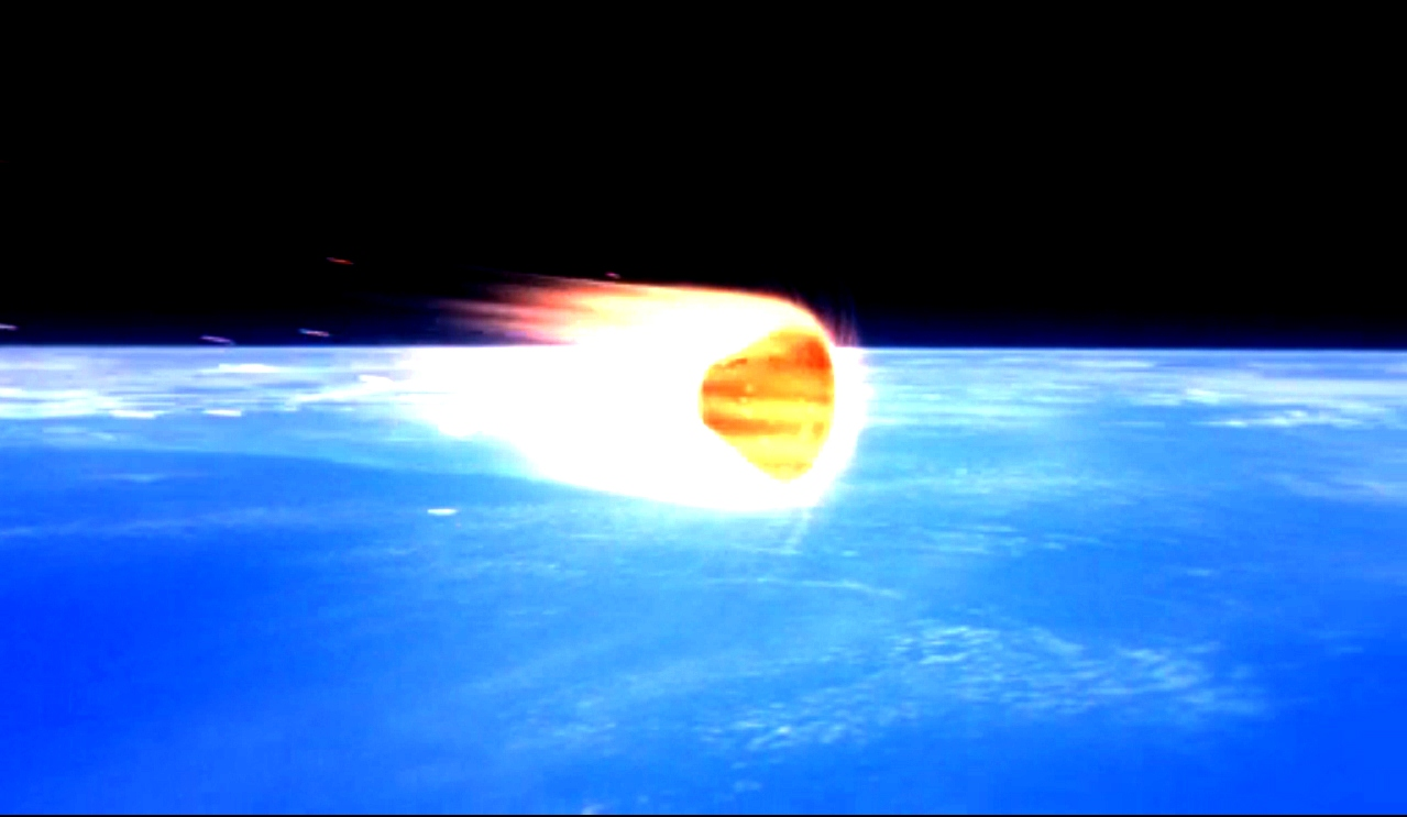 ORION VIDEO REENTRY