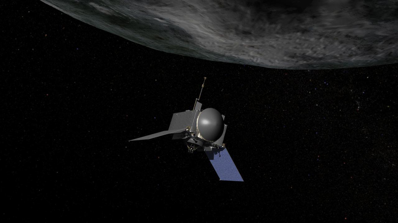 OSIRIS-REx first photographed the asteroid Bennu 42