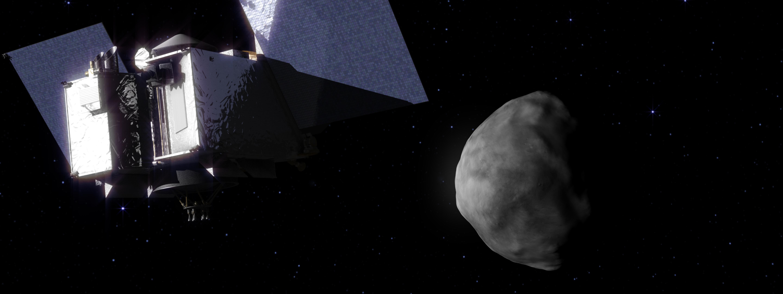 OSIRIS-REx first photographed the asteroid Bennu 66