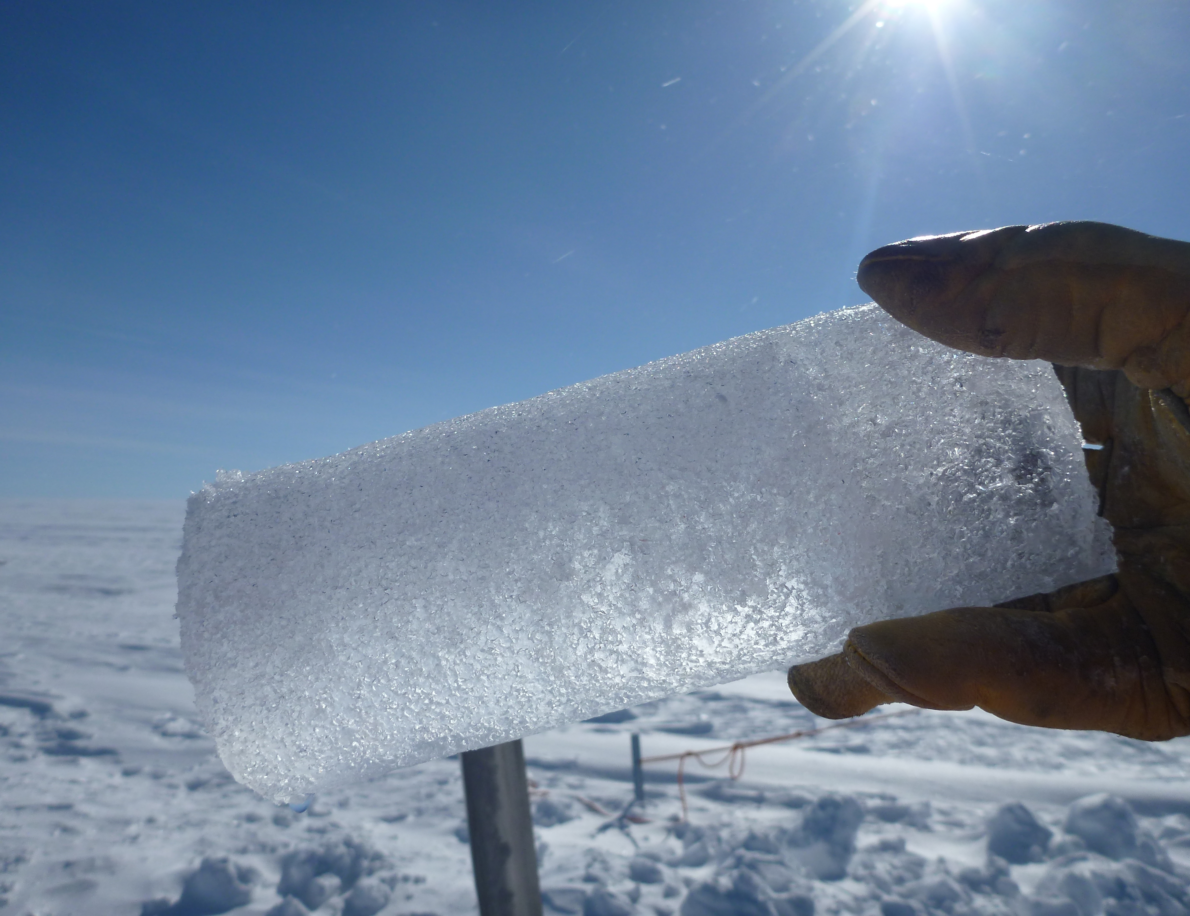 dating greenland ice cores The 210 pb dating method is applied to deep thermally recovered firn-ice cores from the north greenland ice sheet the 210 pb activity is found to decay exponentially with depth (expressed in water equivalent.