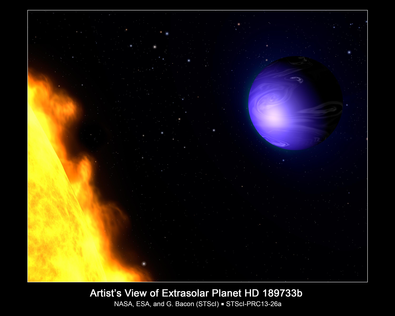 ฮับเบิลของนาซ่าพบกับ Blue Planet True