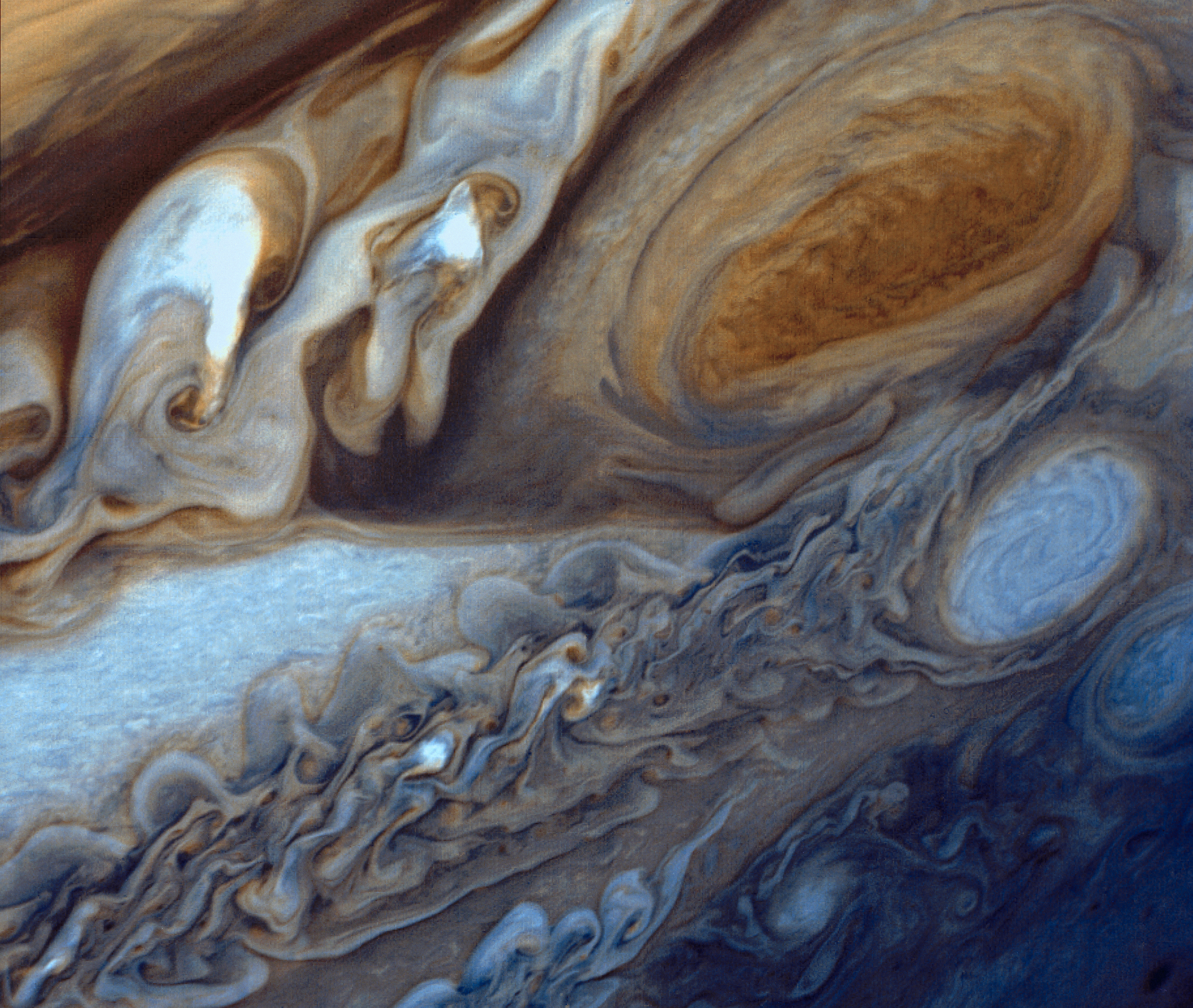 Jupiter's Great Red Spot Viewed by Voyager I | NASA