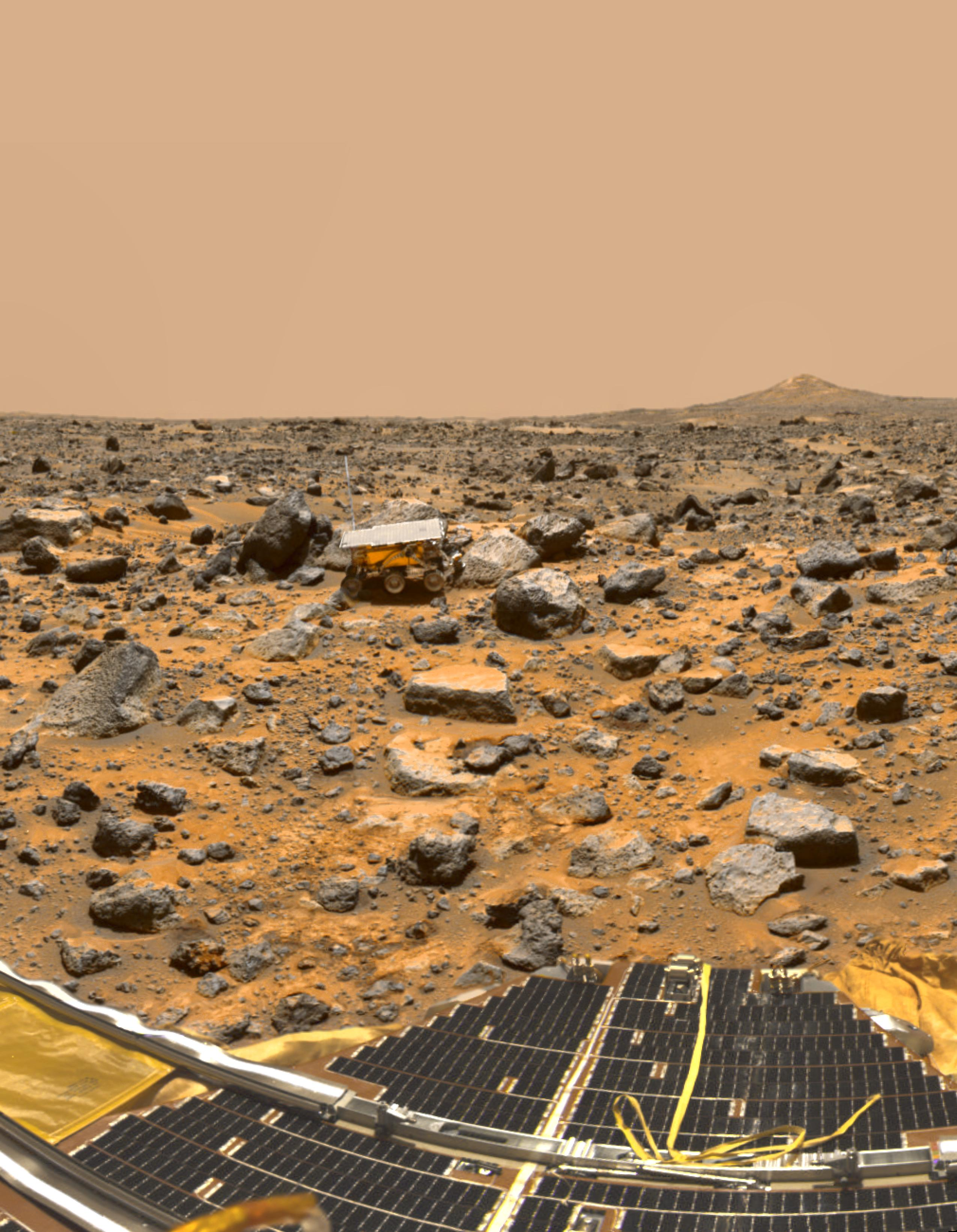 July 4, 1997: Sojourner Arrives on the Red Planet
