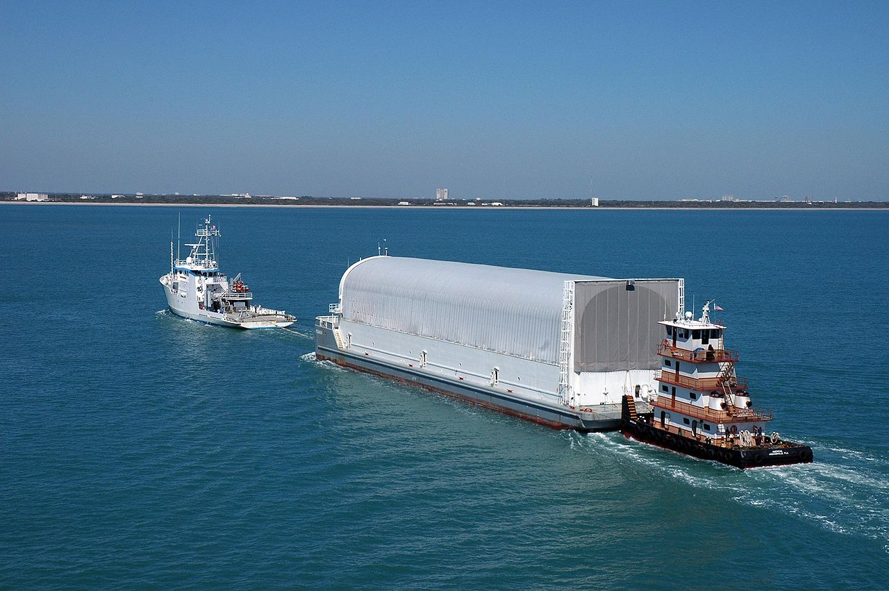 It's Anchors Aweigh on Modifications to NASA's Pegasus Barge | NASA