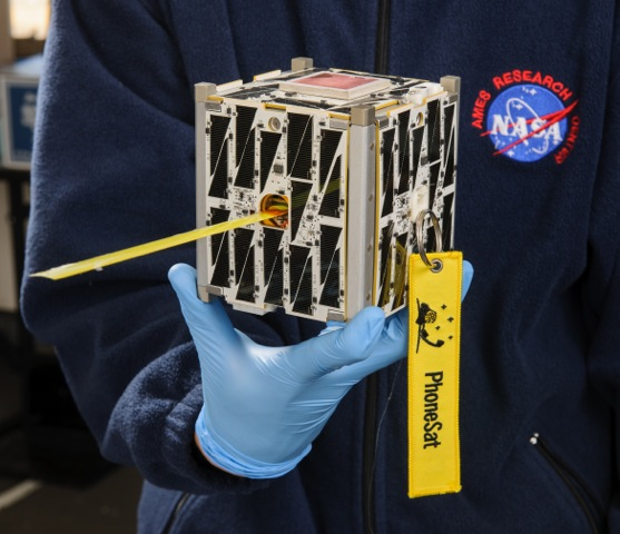 Nasa S Latest Space Technology Small Satellite Phones Home