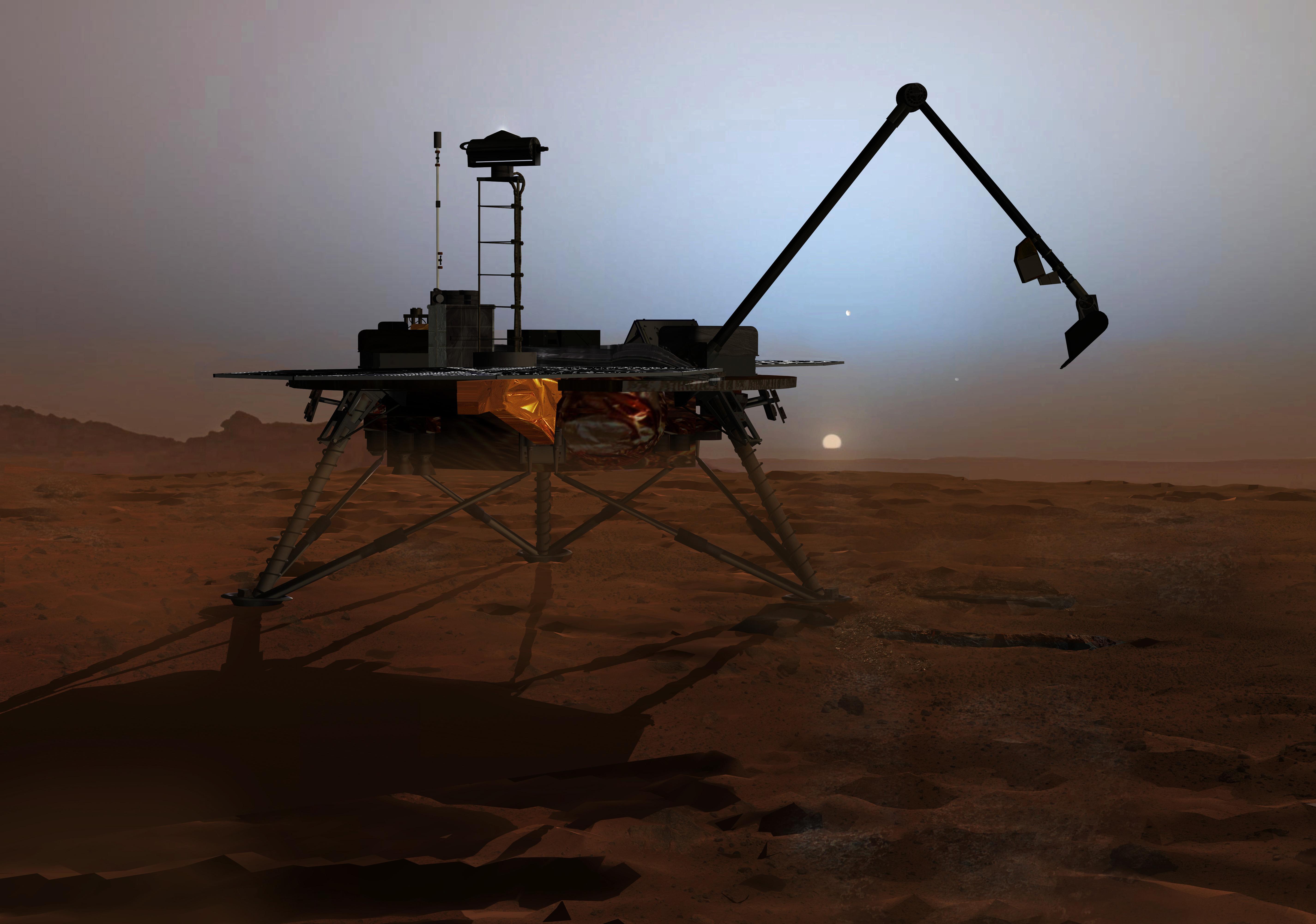 phoenix mission to mars - photo #8