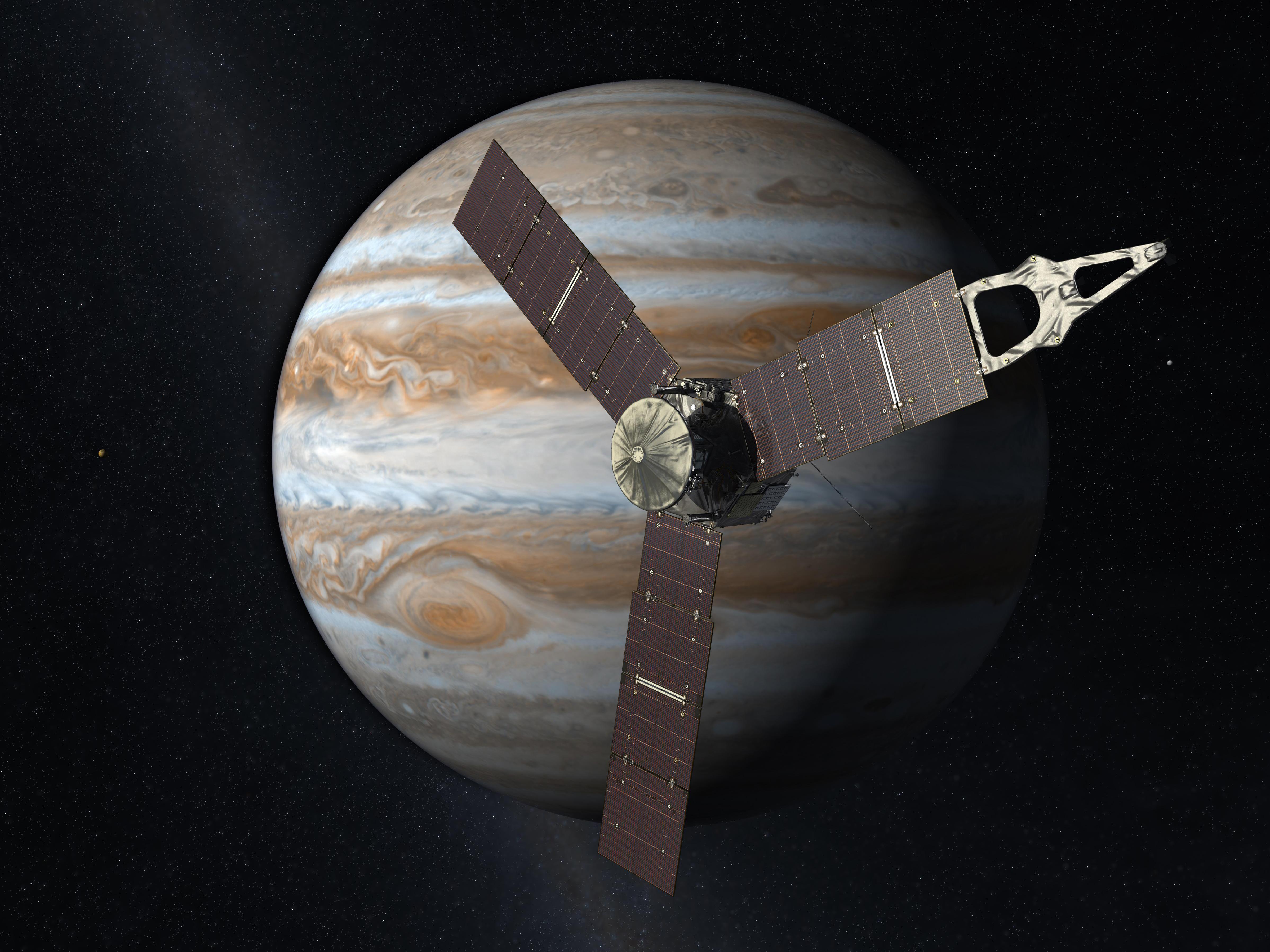 Juno Probe NASA - Juno Reaches Jupiter