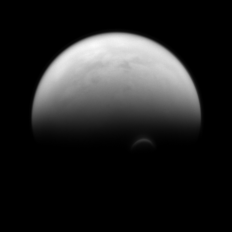 titan the largest moon of saturn essay Titan [ty-tun] is the largest moon of saturn and the second largest moon in the solar system, rivaled only by jupiter's moon ganymede before the voyager encounters, astronomers suspected that titan might have an atmosphere.