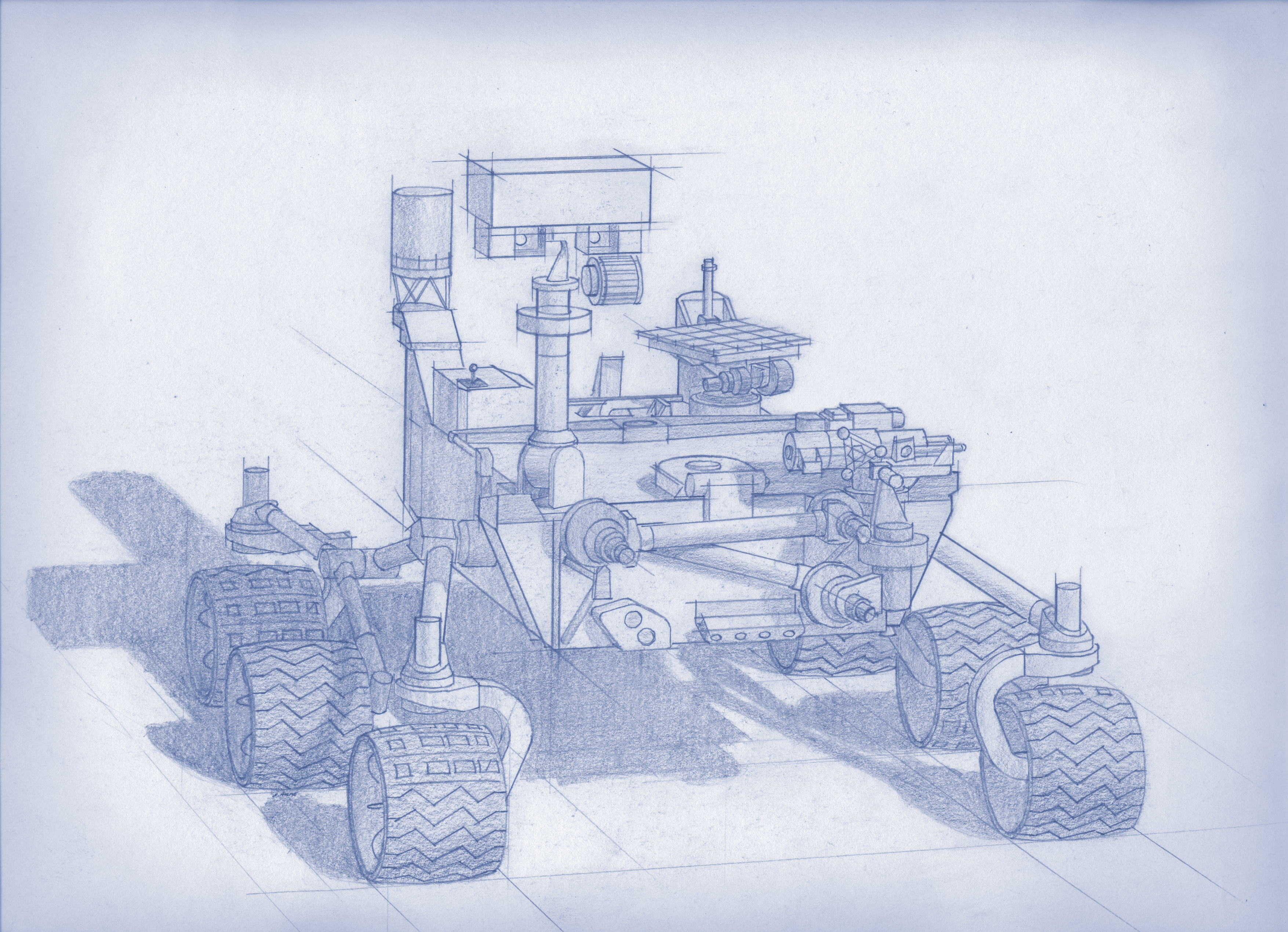 mission to mars concept art - photo #34