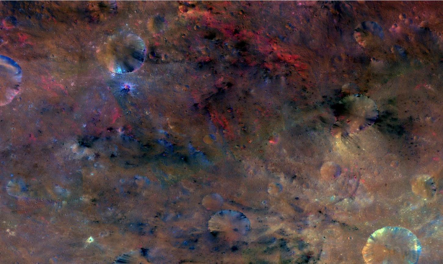 Vesta's Many Colors at Sextilia | NASA
