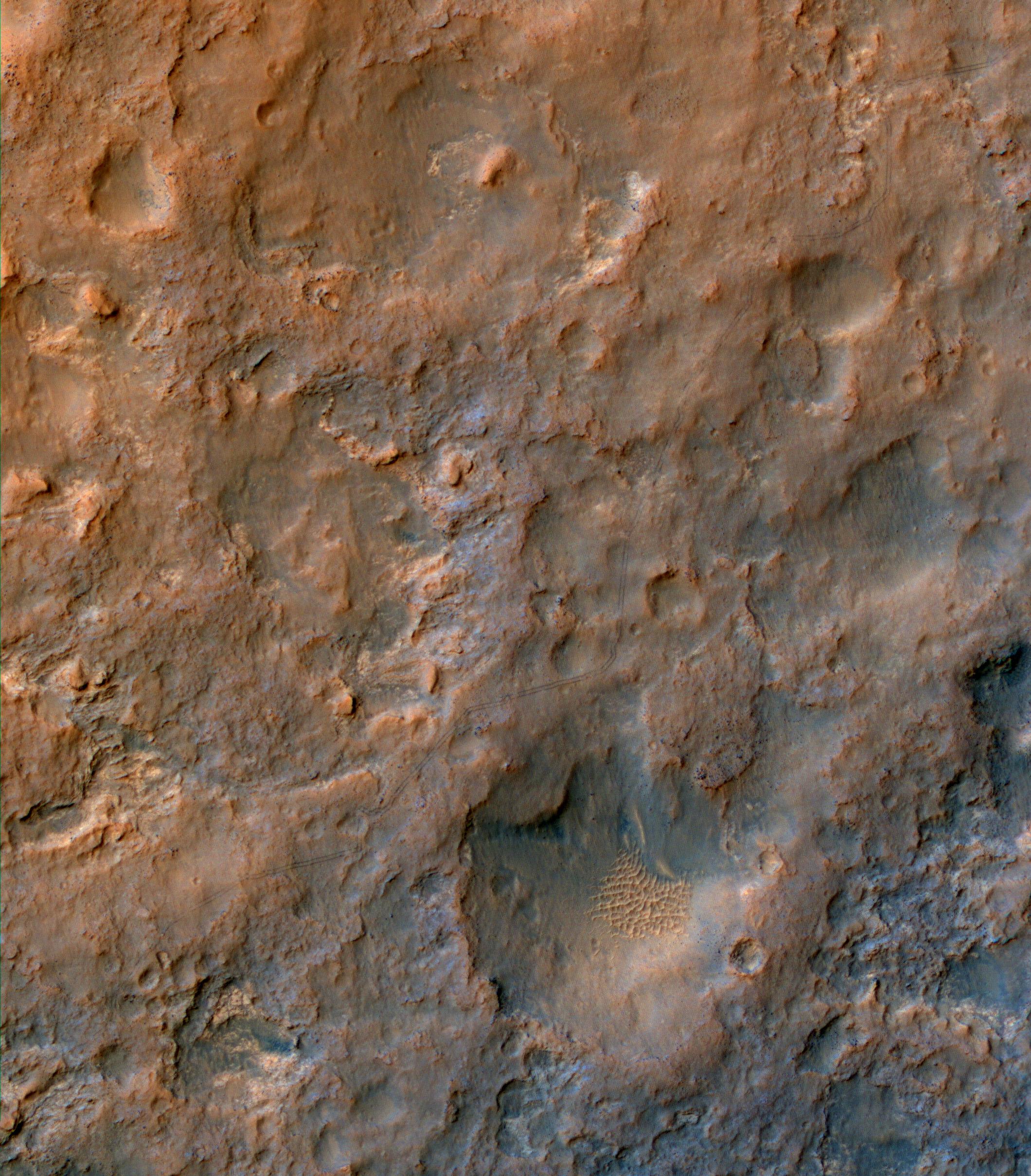 mars rover curiosity curiosity hinterl sst spuren im mars sand. Black Bedroom Furniture Sets. Home Design Ideas