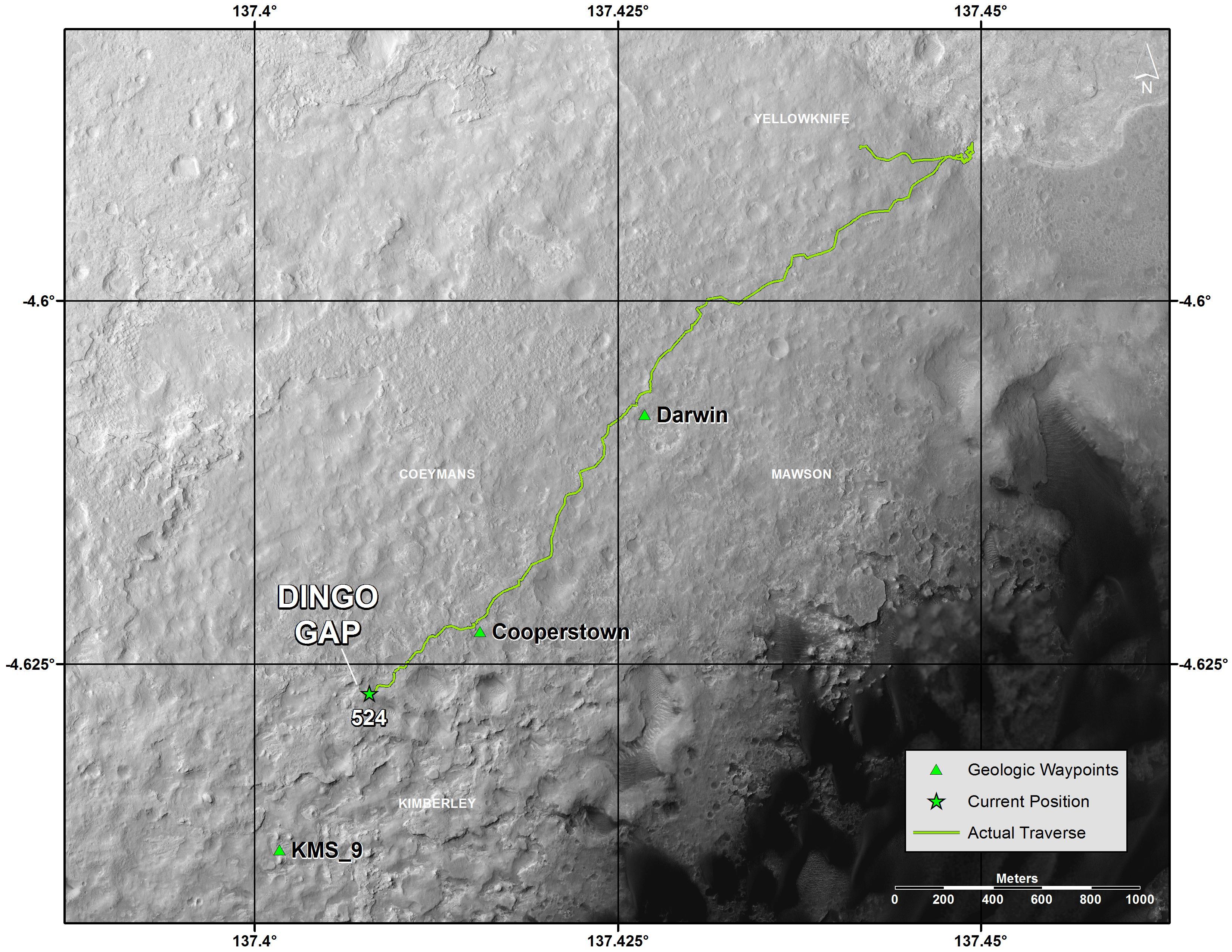 nasa mars maps-#16
