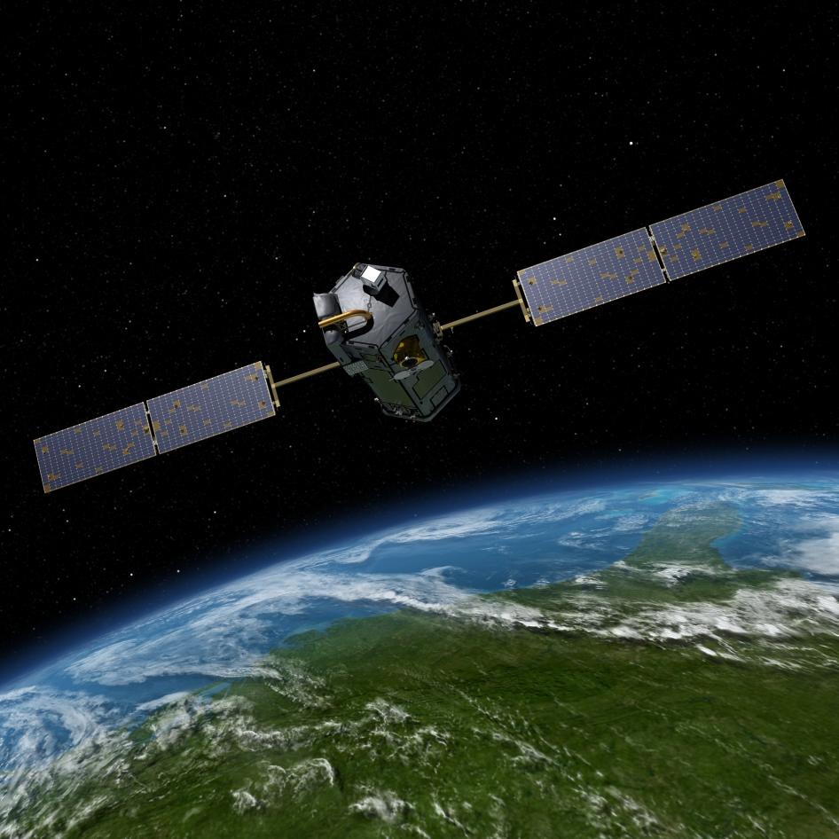 flat earth nasa satellite - photo #5