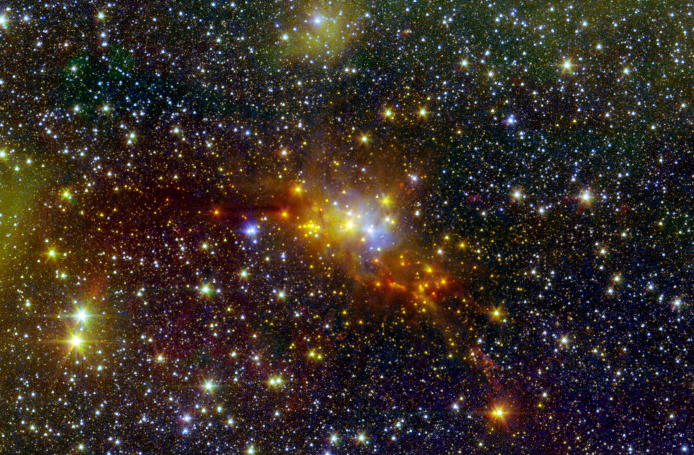 The 'Serpent' Star-forming Cloud Hatches New Stars | NASA