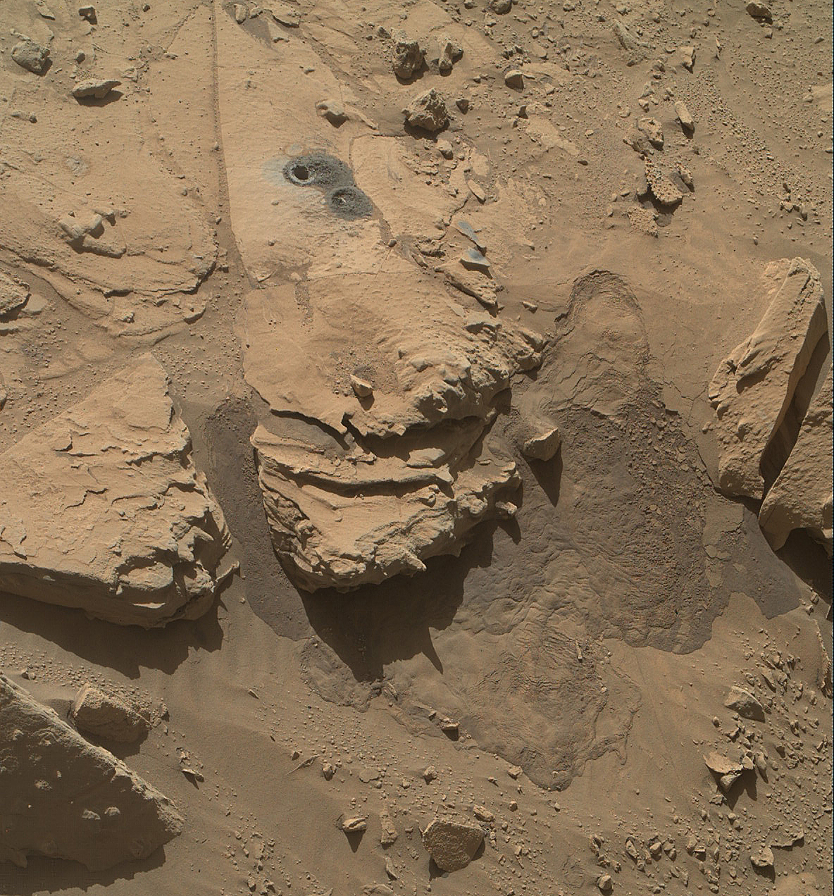 NASA Mars Rover Curiosity Wrapping Up Waypoint Work | NASA