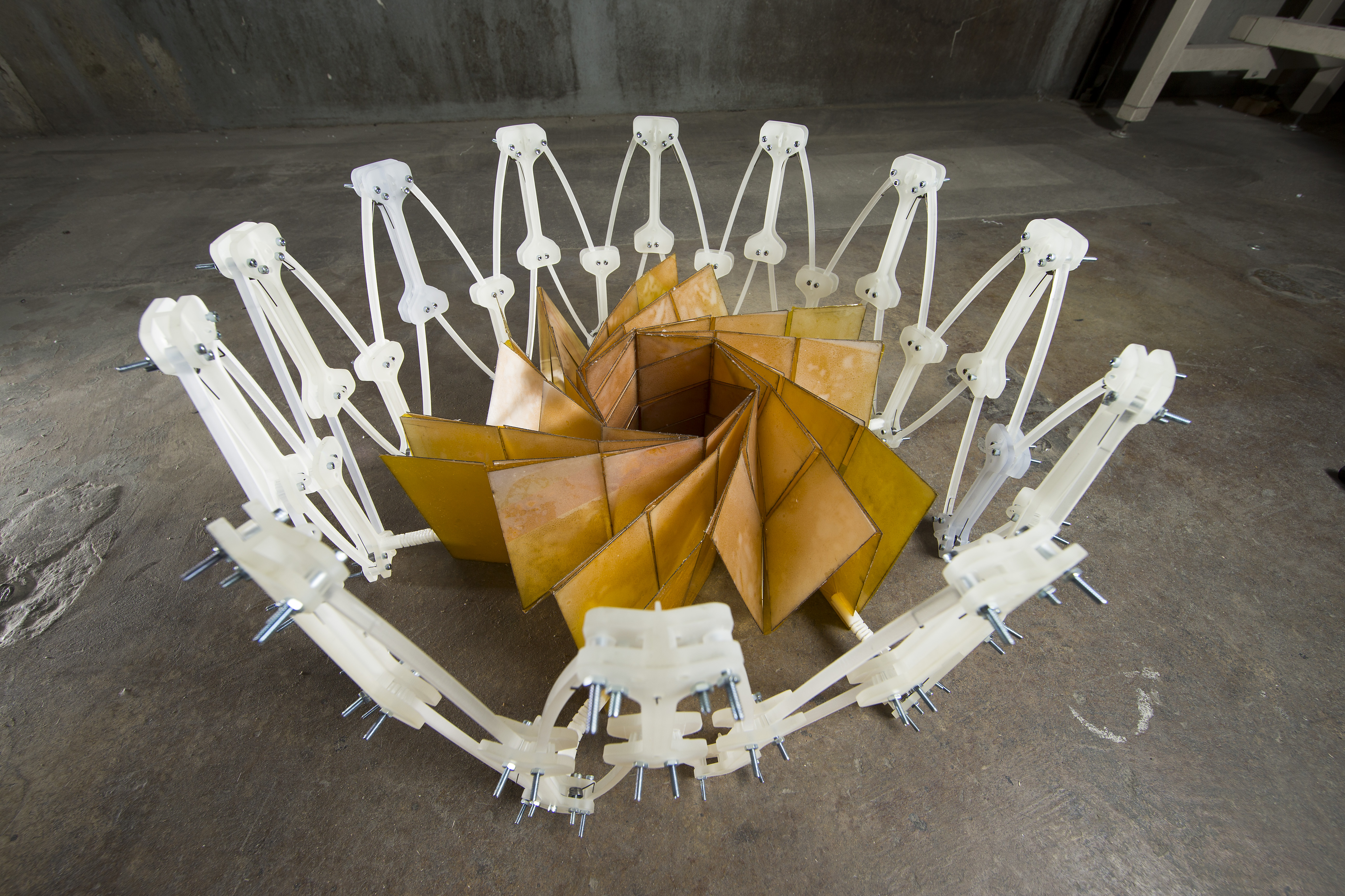 Space Shapes Watch This Origami Solar Array Prototype