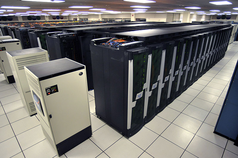NASA's Pleiades Supercomputer Ranks Among Top Ten US Supercomputers | NASA