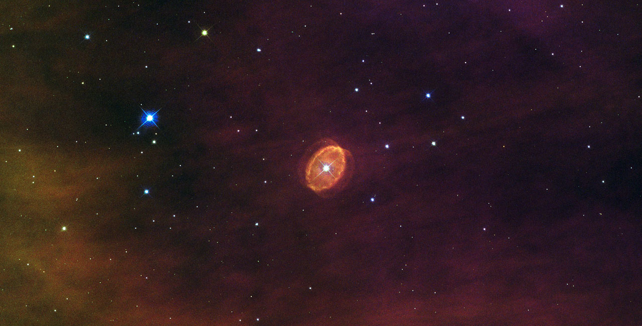 Hubble Sees a Star Set to Explode