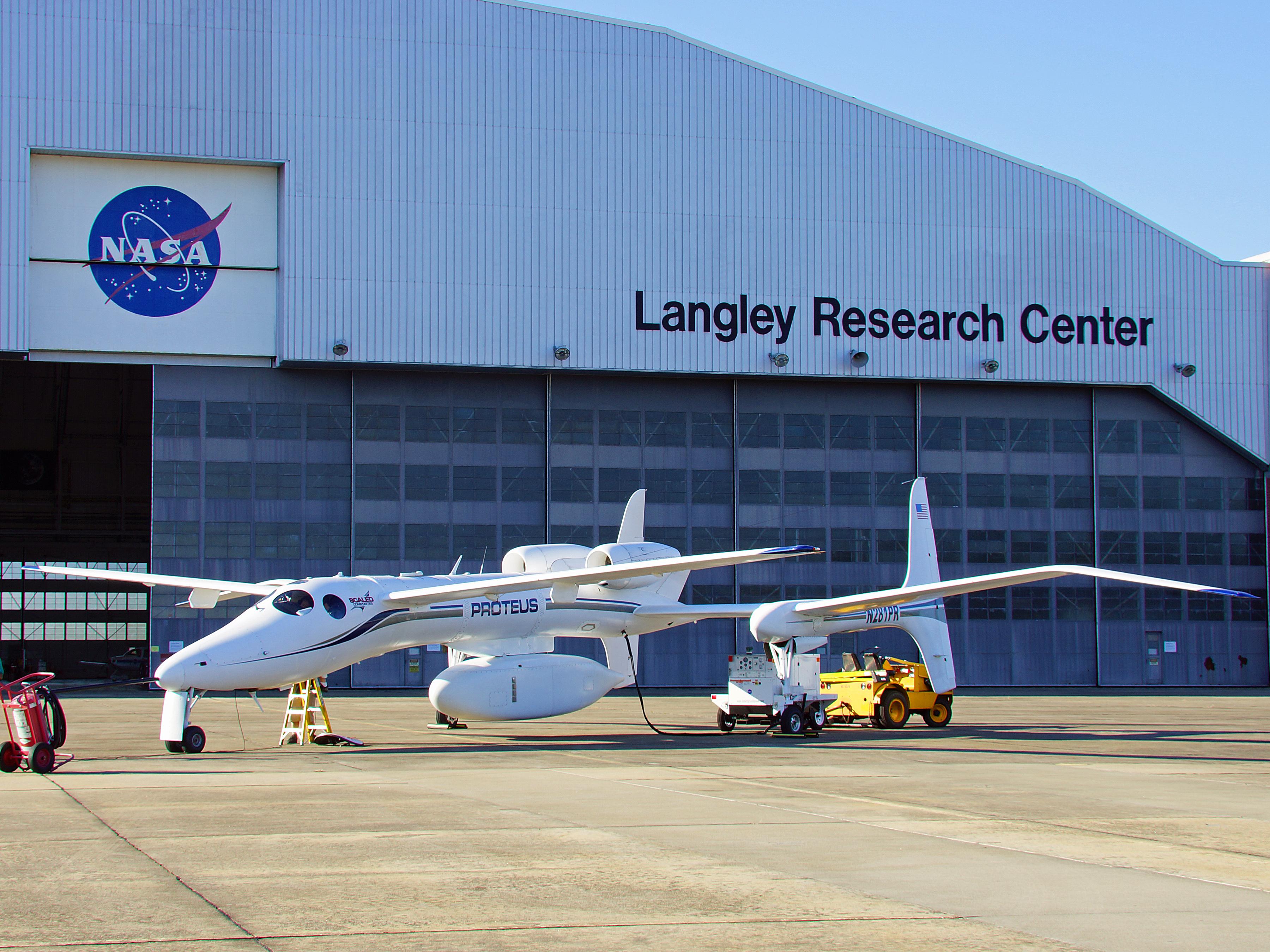 NASA Dryden Proteus Photo Gallery Contact Sheet Photo Collection