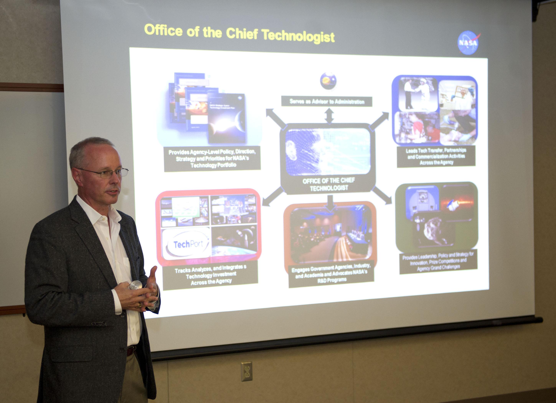 NASA Chief Technologist Visits Stennis Space Center | NASA