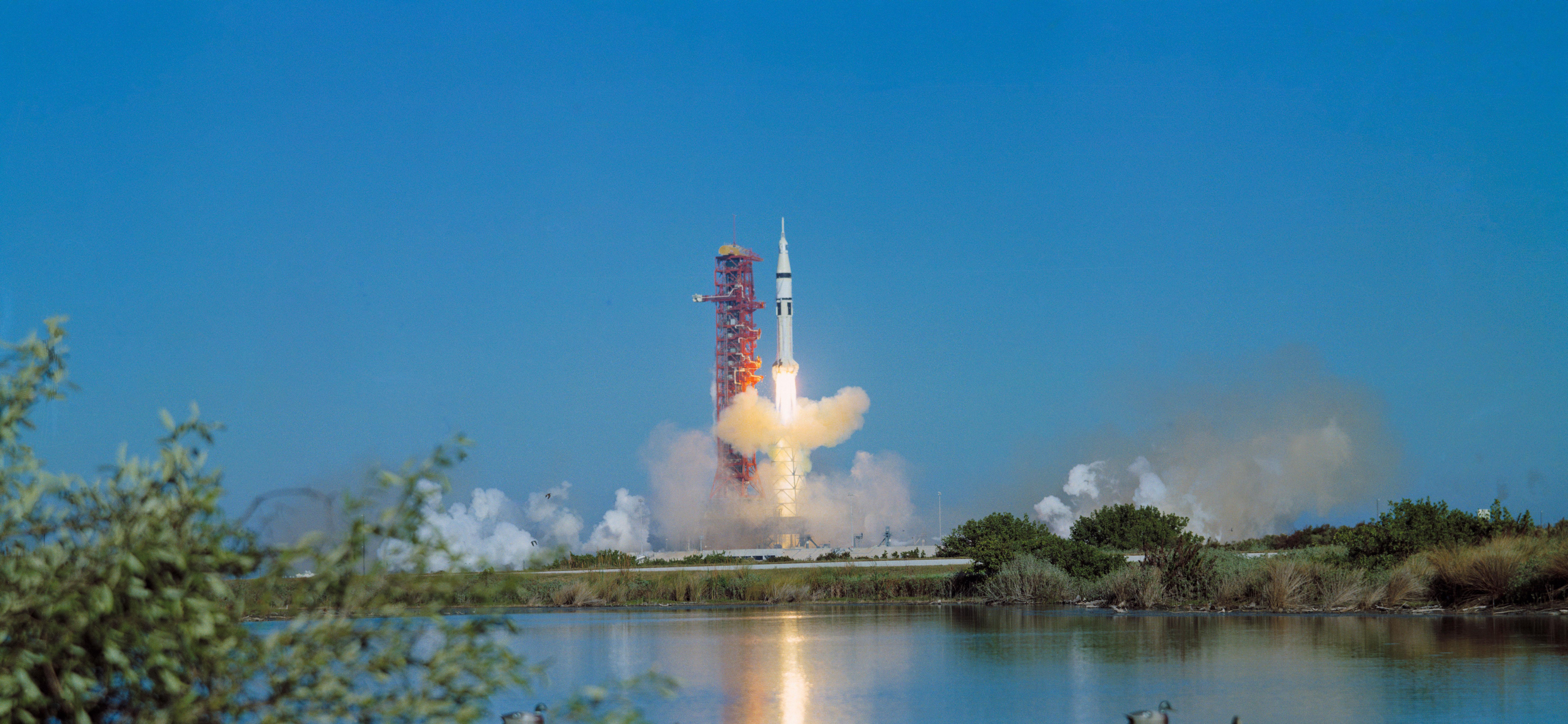 apollo 16 launch - HD1920×1080