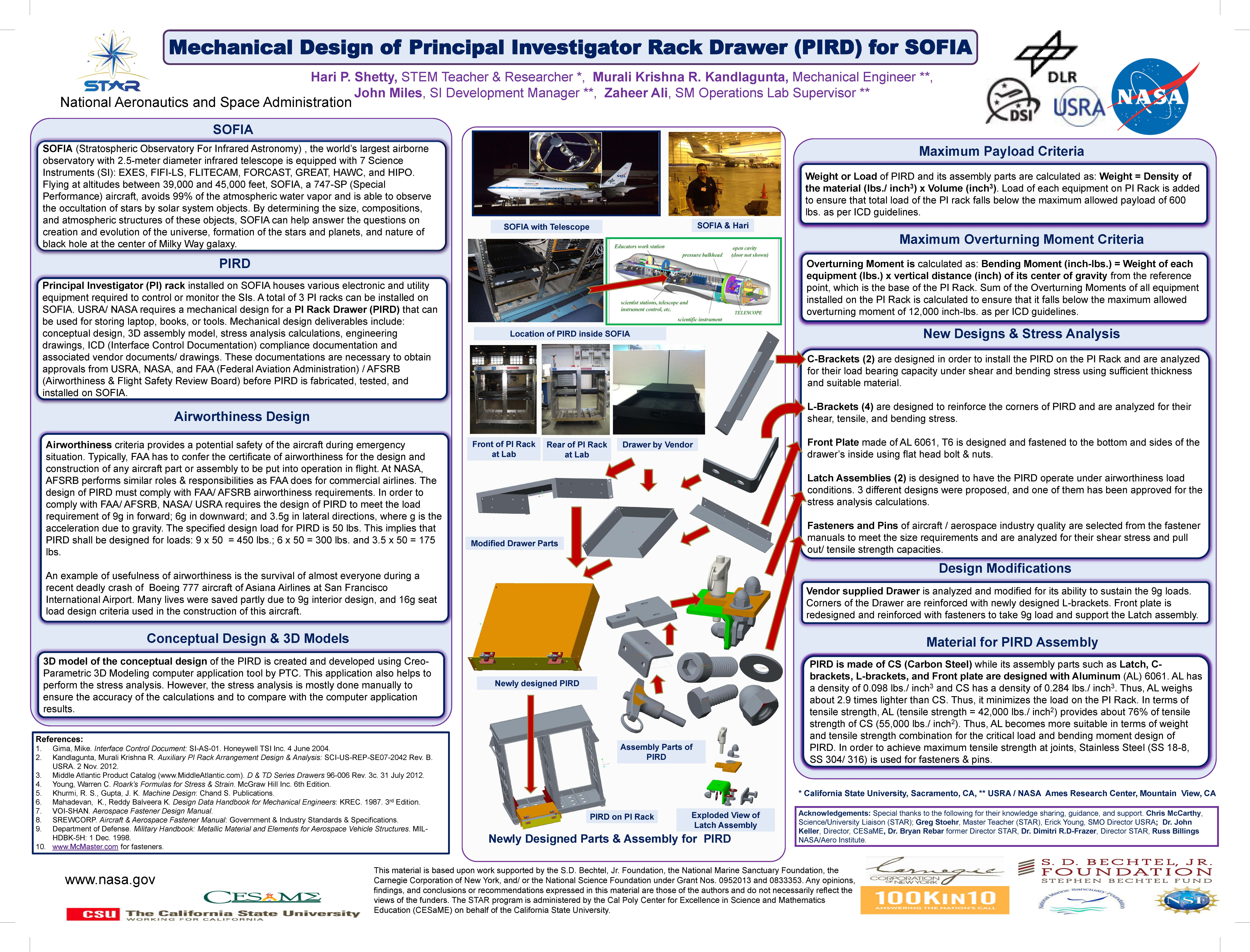2013 NASA Ames Virtual Poster Fair - List by Organization: Codes D