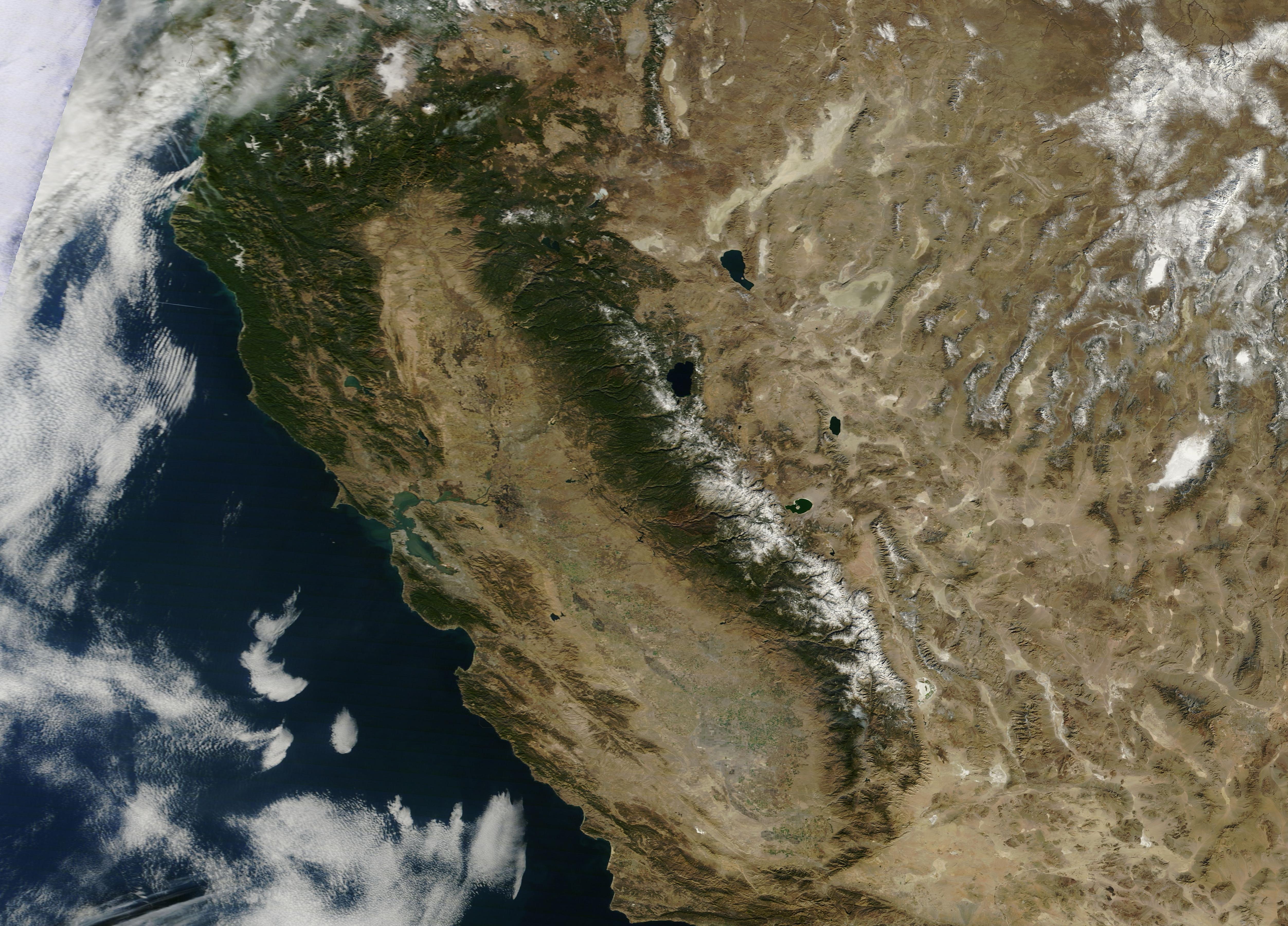 california drought nasa - photo #3