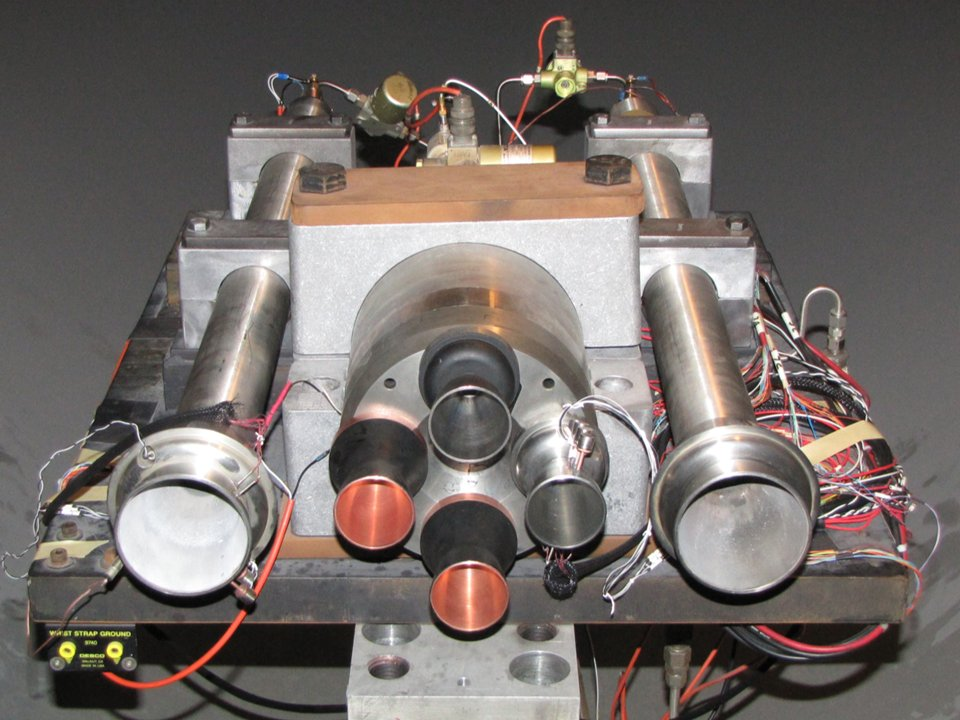 Mini Rocket Models To Be Used In A Big Way For Sls Base Heating Test