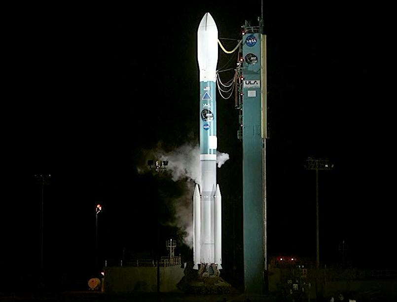 Delta II Rocket Fully Fueled   NASA