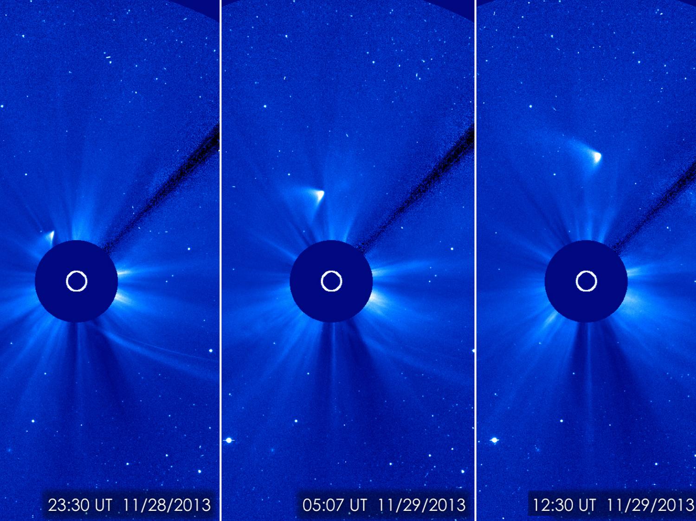 Post Solar Comet ISON