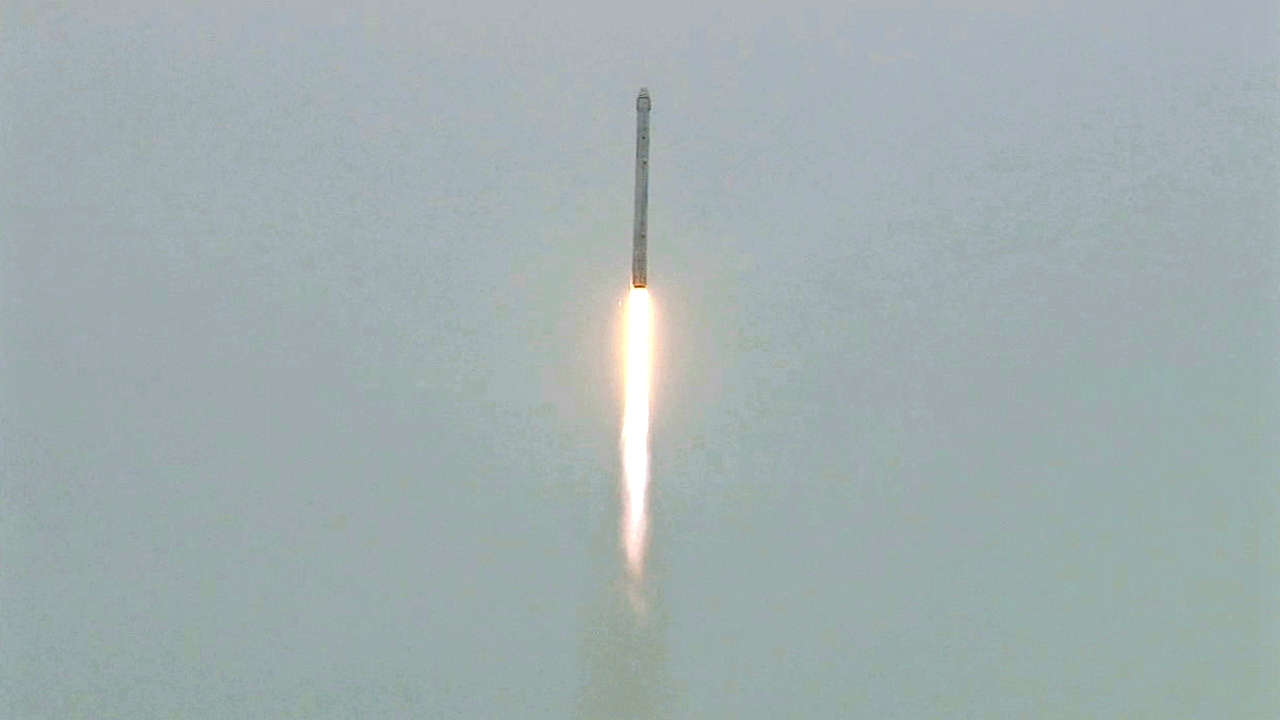 Falcon 9 Two-stage Launch Vehicle   NASA