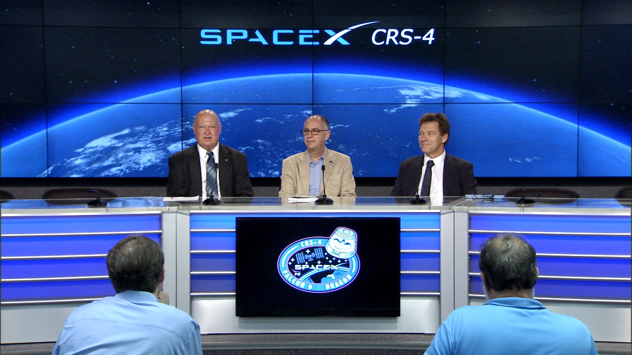 SpaceX CRS-4 Post Launch News Conference | NASA