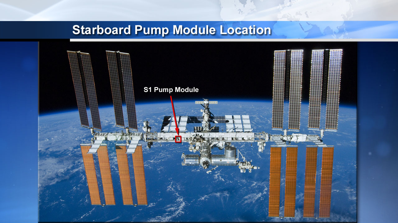 Cooling System Keeps Space Station Safe, Productive | NASA