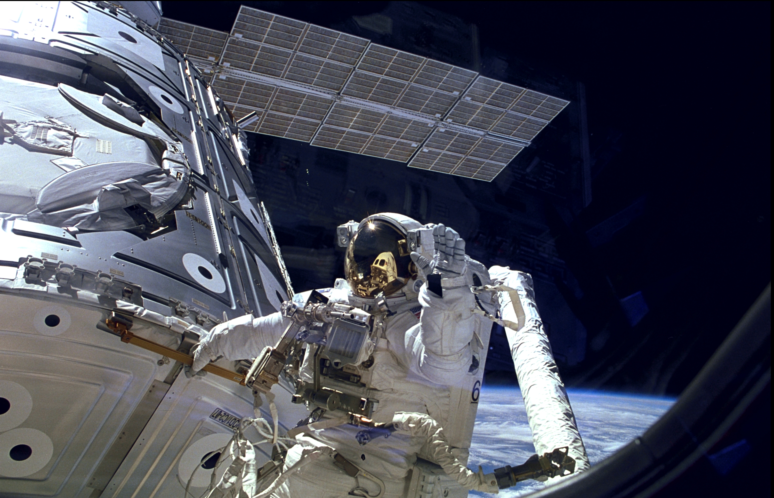 international space station space walk - photo #48
