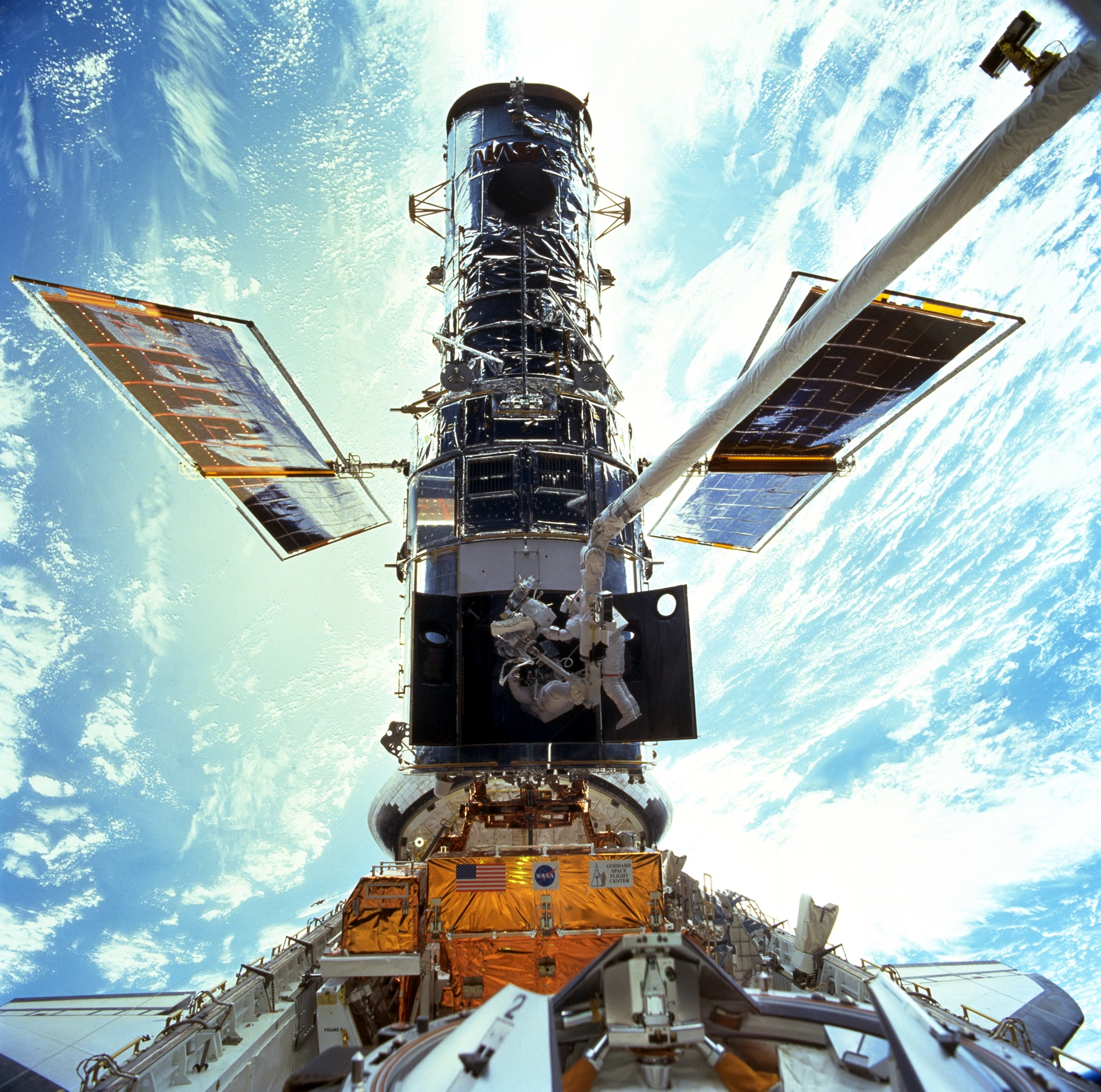 space shuttle hubble telescope - photo #16