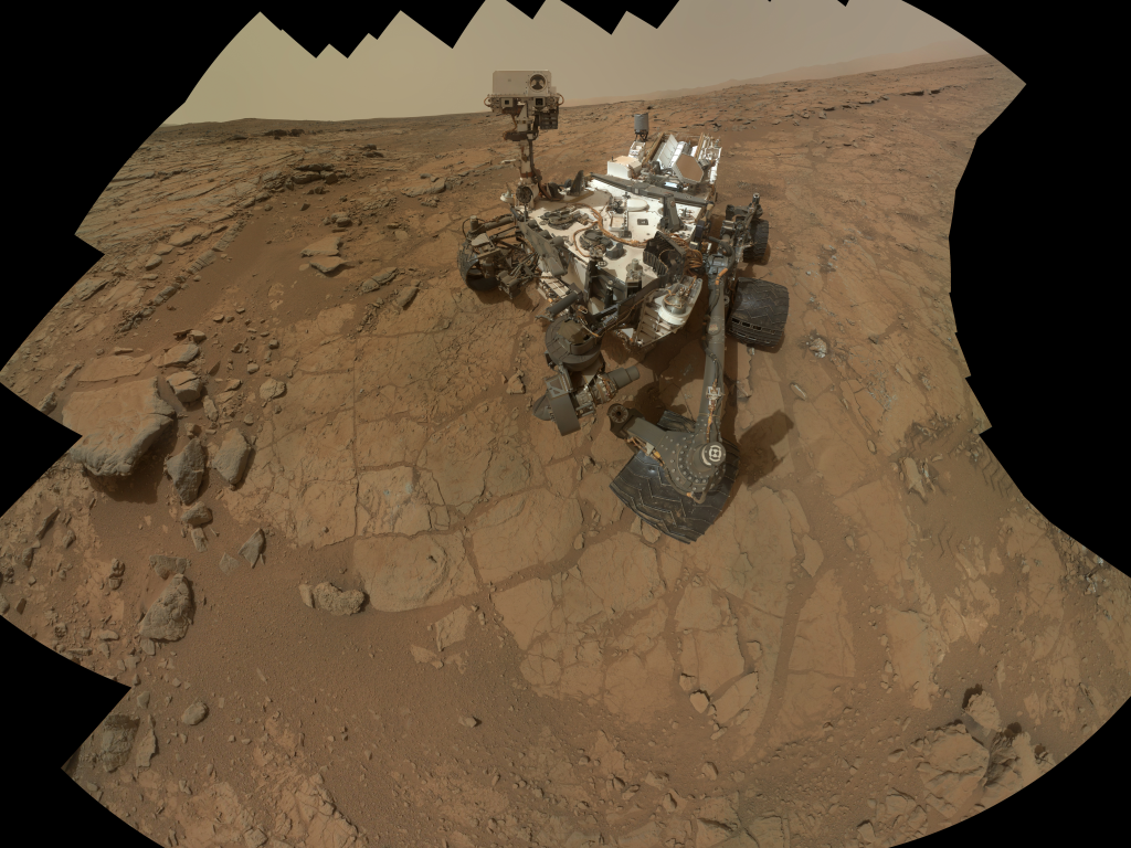 NASA's Curiosity poses for a picture on Mars. Photo: NASA