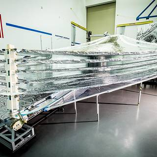 Final Sunshield Layer Completed for NASA's James Webb Space Telescope image