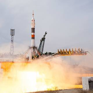 Two New Crew Members Arrive at International Space Station