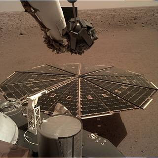 NASA InSight Lander Hears Martian Winds